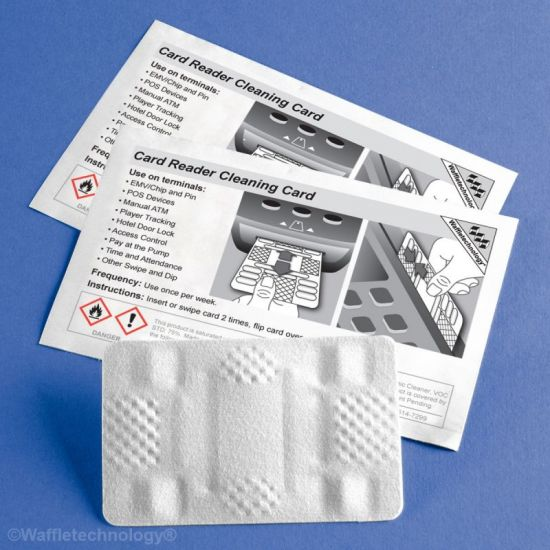 Ingenico Smart Card and Magnetic Reader Cleaning cards, Pack of 40