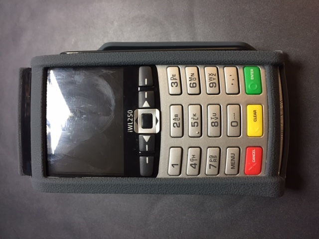 Protective casing for IWL220 and IWL250 card machine | Wireless
